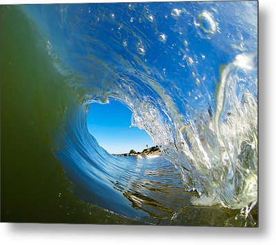 Blue Perfection Metal Print by David Alexander