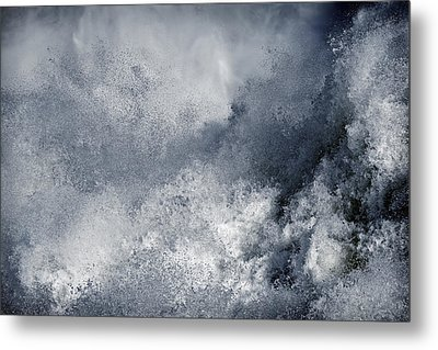 Blue Poseidon Metal Print by Lincoln Rogers