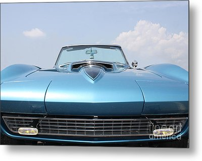 Metal Print featuring the photograph Blue Ray by Paul Cammarata