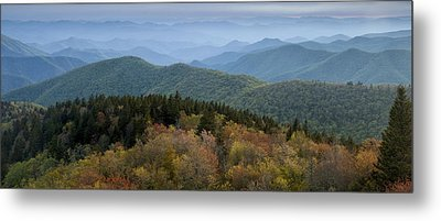 Blue Ridge Evening Metal Print