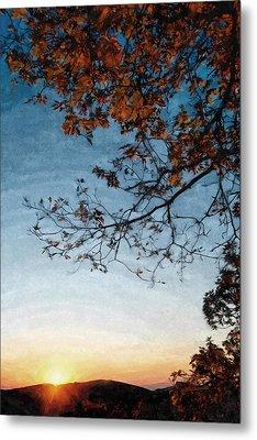 Blue Ridge Mountail Fall Metal Print