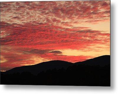 Blue Ridge Mountain Sunset-alabama Metal Print by Mountains to the Sea Photo