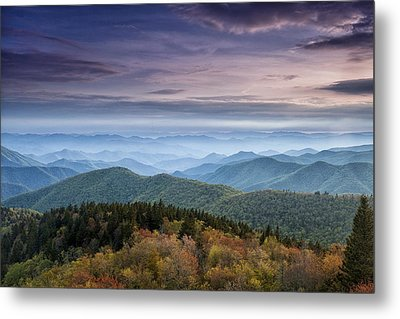 Blue Ridge Mountains Dreams Metal Print by Andrew Soundarajan