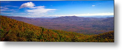 Blue Ridge Parkway Metal Print by Marion Johnson
