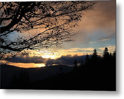 Blue Ridge Parkway Sunrise Metal Print by Mountains to the Sea Photo