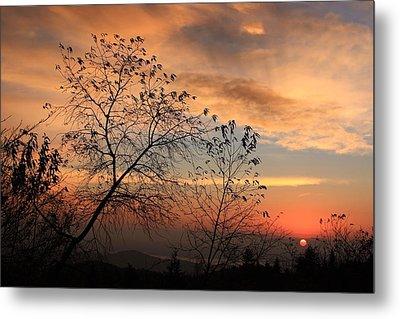 Blue Ridge Sunrise Metal Print by Mountains to the Sea Photo