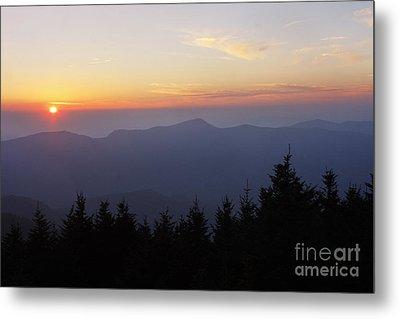 Blue Ridge Sunset 6 Metal Print