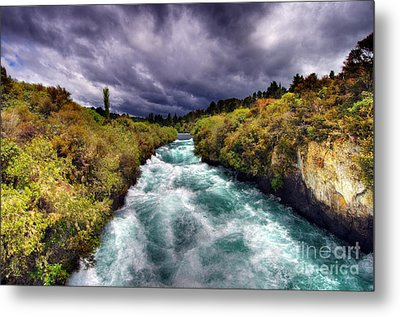 Blue River Metal Print by Colin Woods