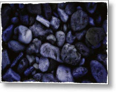 Blue Rocks Metal Print by Jerry Golab