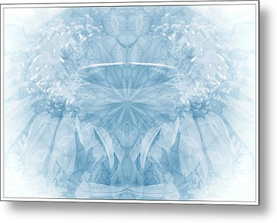 Metal Print featuring the photograph Blue Serinity by Geraldine DeBoer