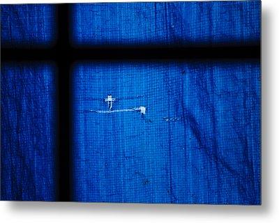 Blue Shade Metal Print by Christi Kraft
