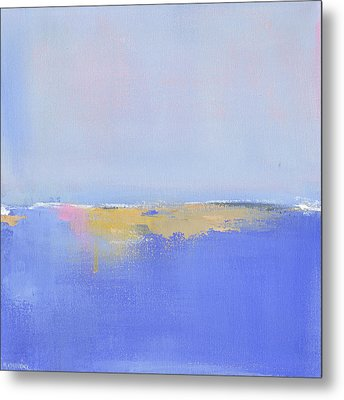 Blue Silences Metal Print