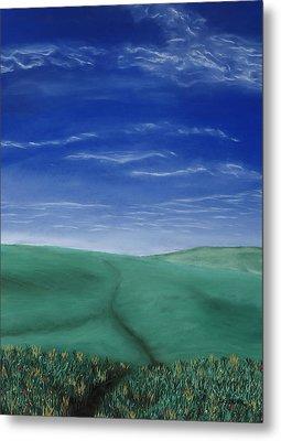 Blue Skies Ahead Metal Print