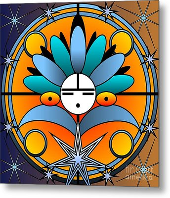 Blue Star Kachina 2012 Metal Print
