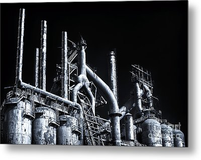 Blue Steel Metal Print by John Rizzuto
