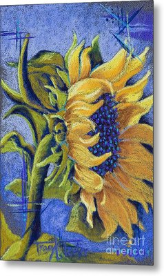 Blue Sunshine Metal Print by Tracy L Teeter