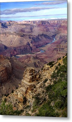 Blue Water In The Grand Canyon Metal Print
