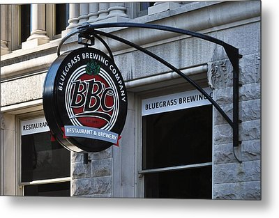 Metal Print featuring the photograph Bluegrass Brewing Company by Greg Jackson