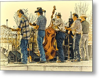 Bluegrass Evening Metal Print by Robert Frederick
