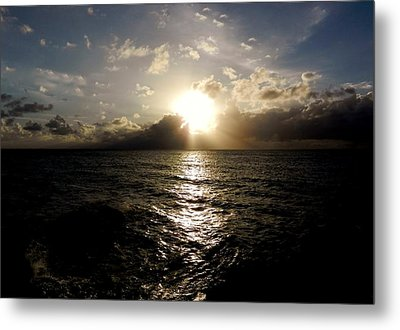 Metal Print featuring the photograph Blues @ Evening by Amar Sheow