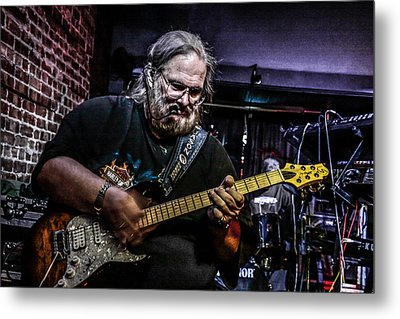 Bluesman Metal Print by Ray Congrove