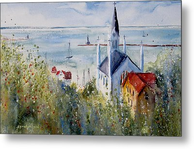 Bluff View St. Annes Mackinac Island Metal Print