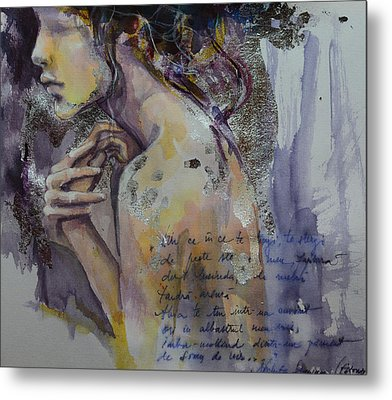 Blurred Mood Metal Print by Dorina  Costras