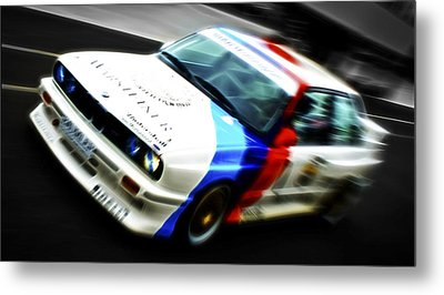 Bmw E30 M3 Racer Metal Print by Phil 'motography' Clark