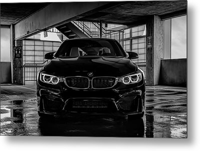 Bmw M4 Metal Print by Douglas Pittman