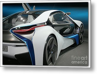 Bmw Vision Vl Metal Print by Stefano Senise
