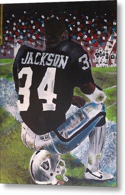 Bo Jackson II Metal Print