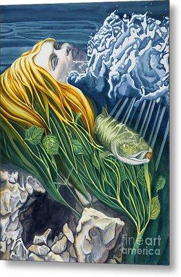 Boann Transformation Of A Goddess Metal Print