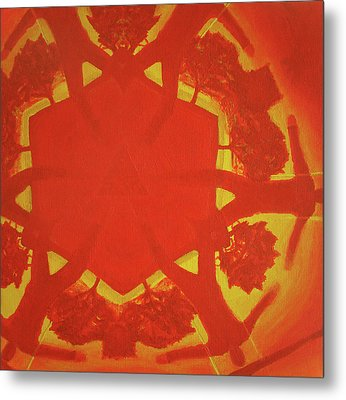 Boards Of Canada Geogaddi Album Cover Metal Print by David Rives