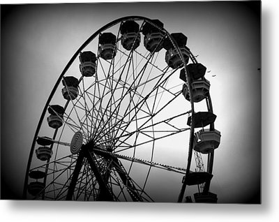 Metal Print featuring the photograph Boardwalk Beauty by Laurie Perry