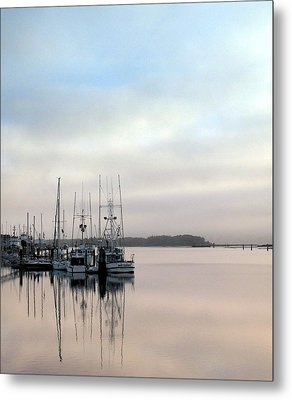 Metal Print featuring the photograph Boardwalk Boats by Suzy Piatt