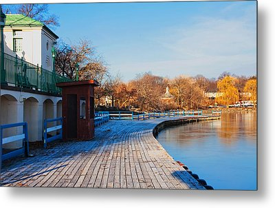 Boardwalk  Metal Print by Jose Rojas