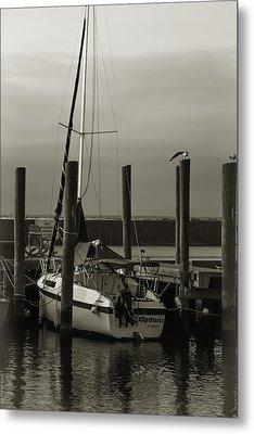 Boat Metal Print by Jennifer Burley