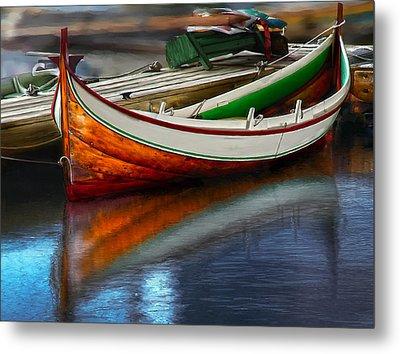 Boat Metal Print by Rick Mosher