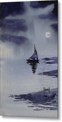 Boat Metal Print by Sam Sidders