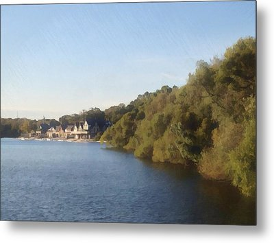 Boathouse Metal Print by Photographic Arts And Design Studio