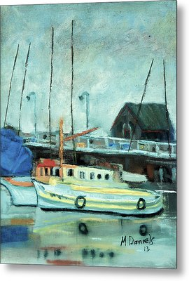 Boats At Provincetown Ma Metal Print