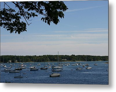 Boats At Rest Metal Print by Denyse Duhaime