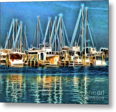 Metal Print featuring the photograph Boats by Clare VanderVeen
