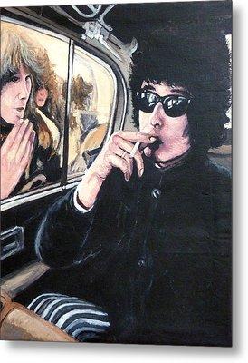 Bob Dylan 1966 Metal Print by Tom Roderick