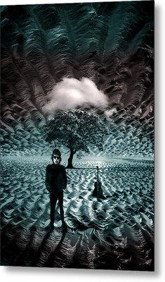Bob Dylan A Hard Rain's A-gonna Fall Metal Print by Mal Bray