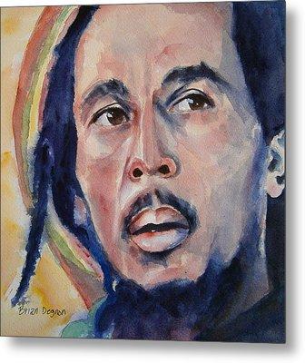 Bob Marley Metal Print by Brian Degnon