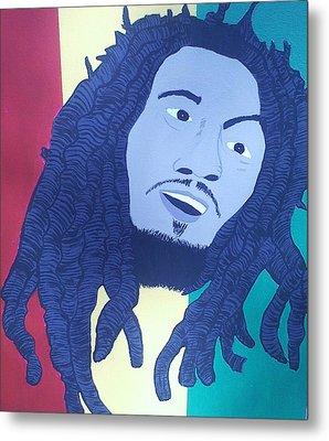Bob Marley Metal Print by Lew Griffin