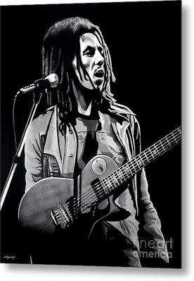 Bob Marley Tuff Gong Metal Print