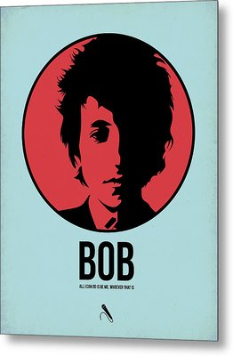 Bob Poster 2 Metal Print by Naxart Studio