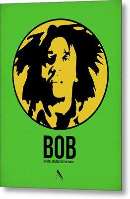 Bob Poster 3 Metal Print by Naxart Studio